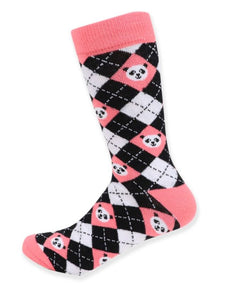 Parquet Ladies Giant Panda Novelty Crew Socks