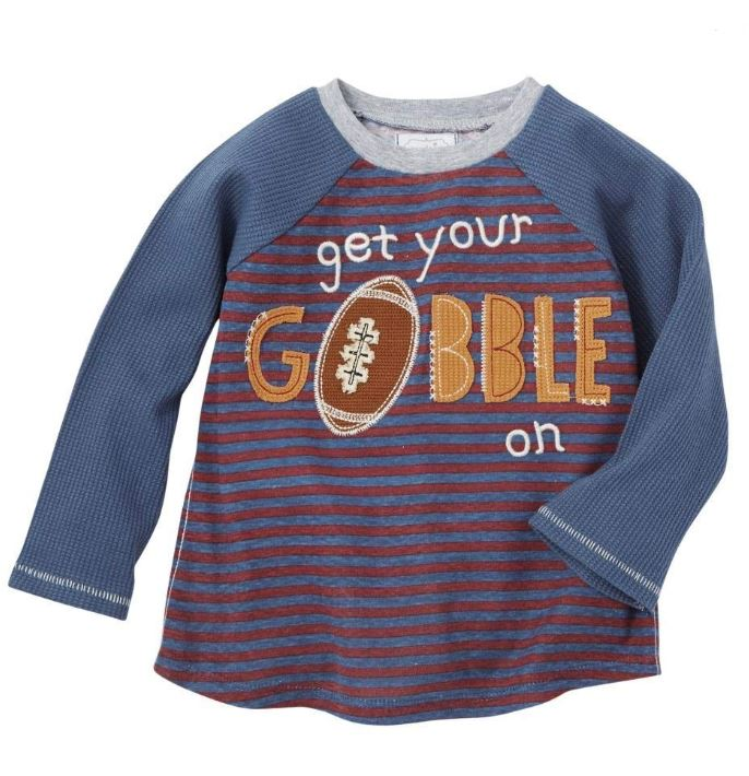 Mud Pie Toddler Gobble T-shirt