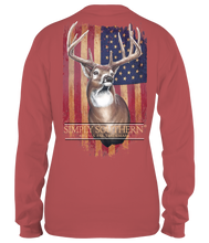 Load image into Gallery viewer, Simply Southern Collection Deer Spice Long Sleeve T-shirt