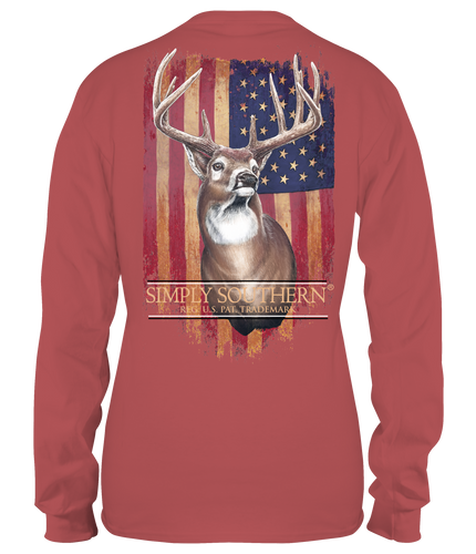 Simply Southern Collection Deer Spice Long Sleeve T-shirt