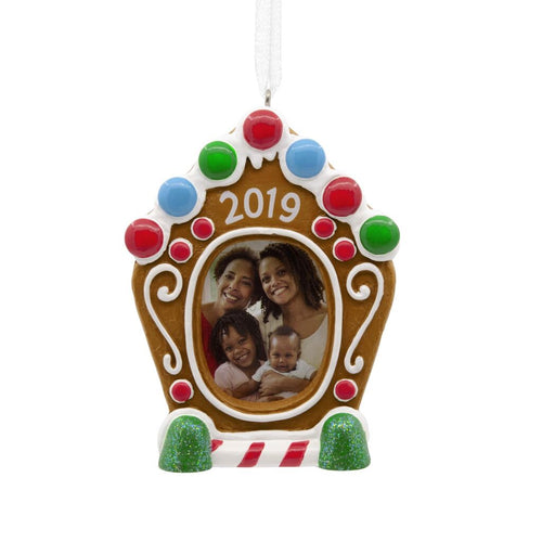 Hallmark Gingerbread Frame 2019 Ornament
