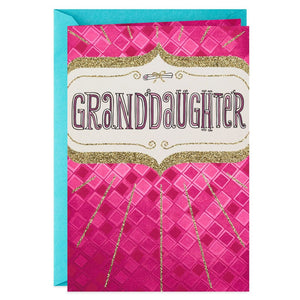 HALLMARK EYES FULL OF WONDER GRADUATION CARD FOR GRANDDAUGHTER