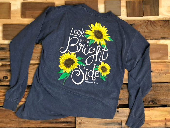 Southernology Look on the Bright Side Long Sleeve T-shirt