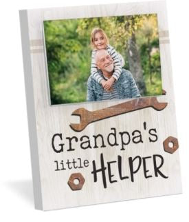 P. Graham Dunn Grandpa's Little Helper Frame