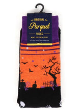 Load image into Gallery viewer, Parquet Men's Halloween Novelty Socks