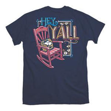 Load image into Gallery viewer, ITS A GIRL THING HEY Y'ALL SHORT SLEEVE T-SHIRT