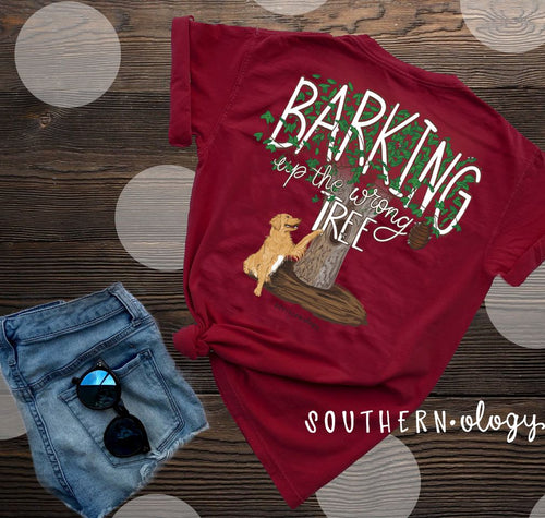 Southernology Barking up the Wrong Tree Short Sleeve T-shirt