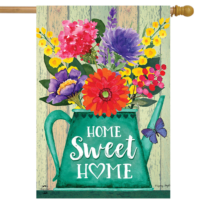 BRIARWOOD LANE HOME SWEET HOME HOUSE FLAG