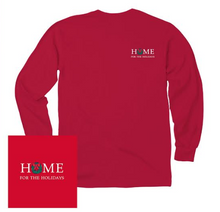 Load image into Gallery viewer, KOSS CUSTOM DESIGN - HOME FOR THE HOLIDAYS LONG SLEEVE