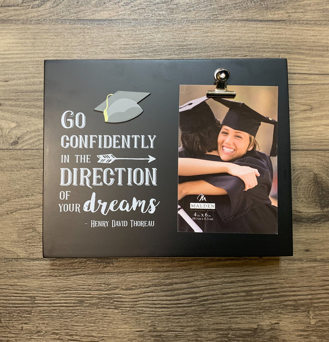 MALDEN INTERNATIONAL DESIGNS GO CONFIDENTLY GRADUATION BOX FRAME