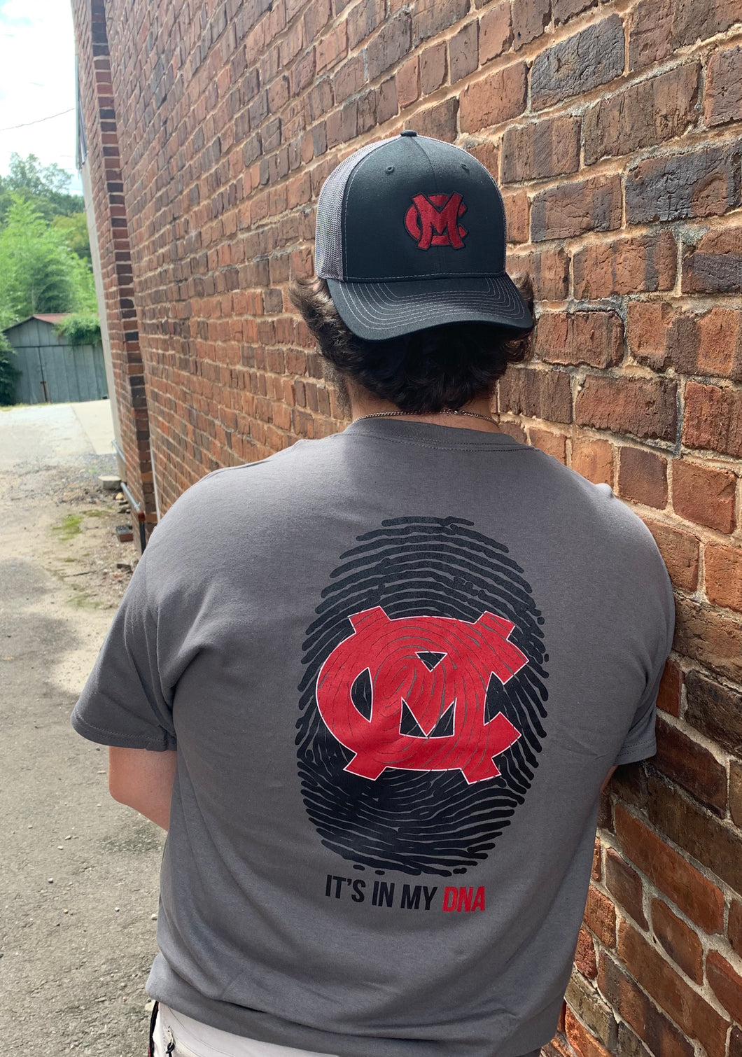 Mid - Carolina Rebels DNA T-shirt