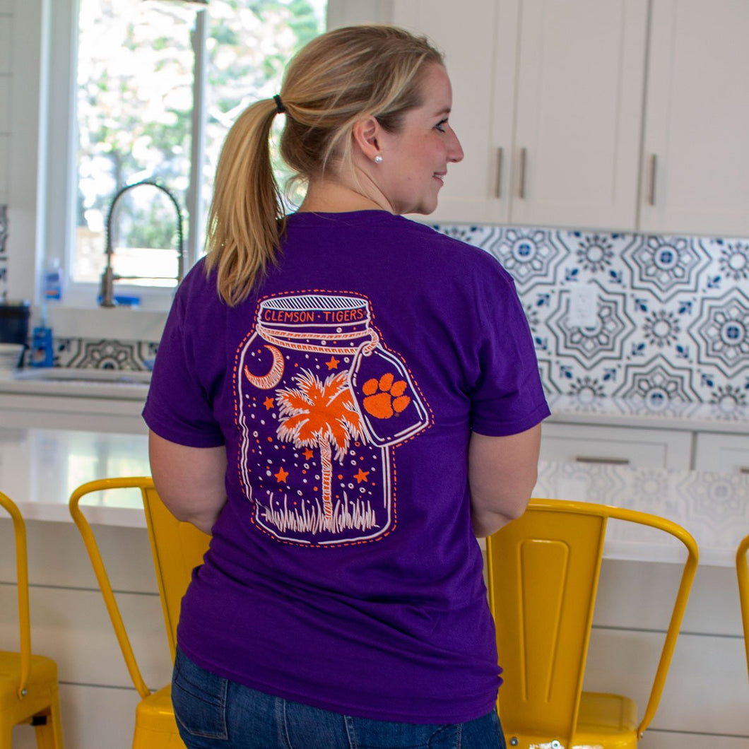 Palmetto Shirt Co. Clemson Tiger Mason Jar T-shirt