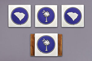 Magnolia Lane Palmetto Coasters