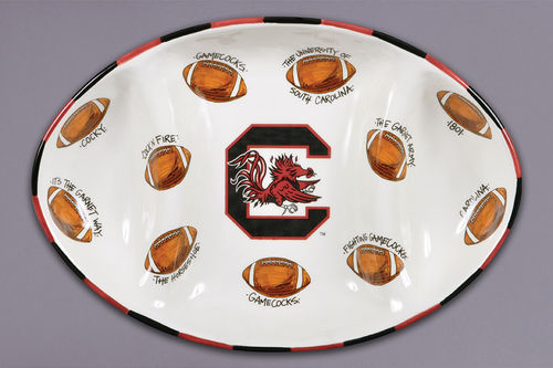 Magnolia Lane USC Football Platter