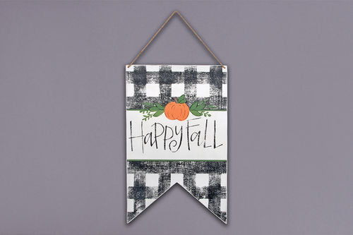 Happy Fall Door Hanger