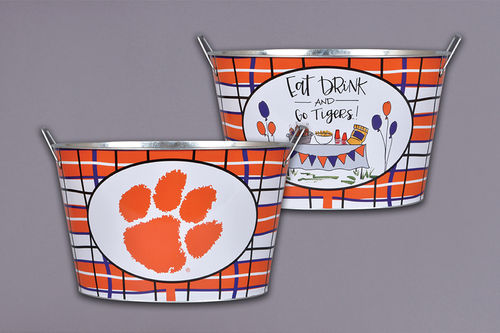 Magnolia Lane  Clemson University Tailgate Bucket