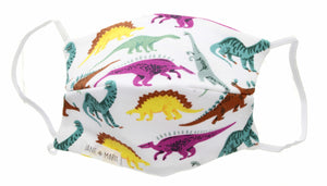 Jane Marie Dinosaur Youth Face Mask