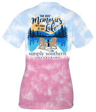 Load image into Gallery viewer, SIMPLY SOUTHERN LAKE MEMORIES T-SHIRT