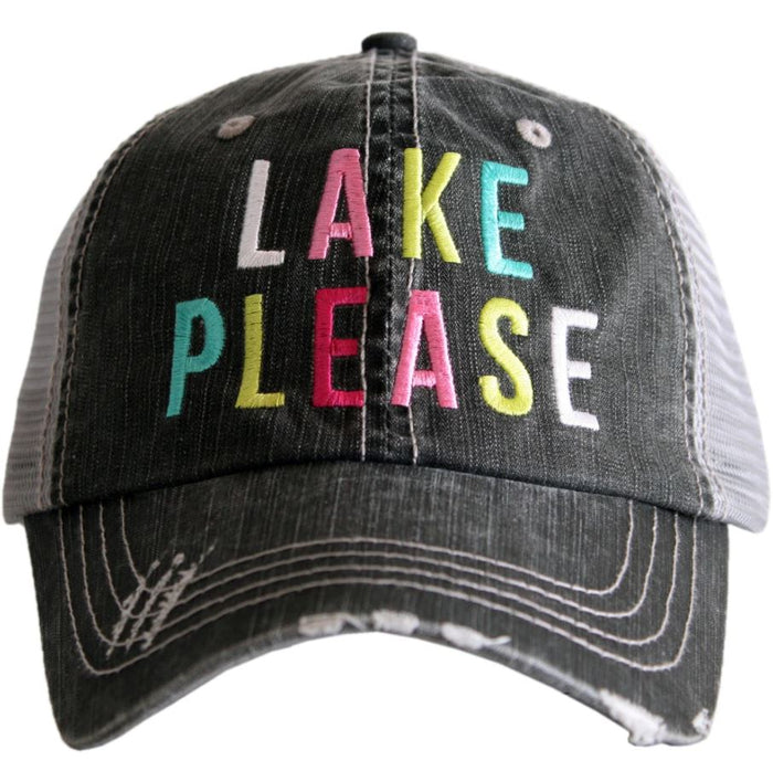 Katydid Collection Lake Please Distressed Hat