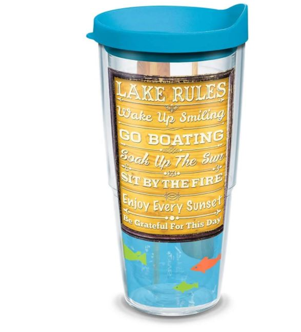 Tervis Lake Rules Tumbler