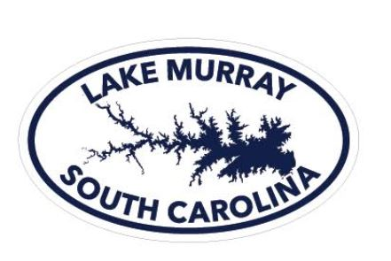 Lake Murray Oval Decal