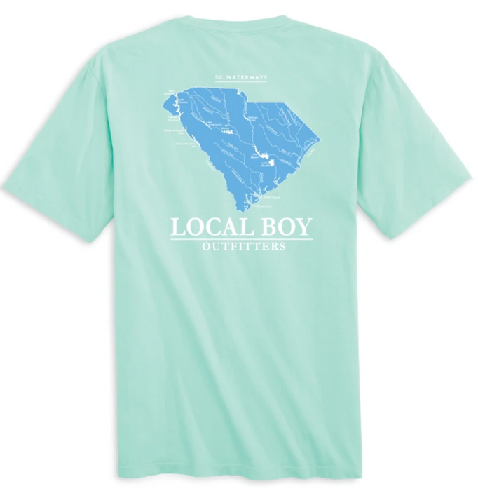 Local Boy Outfitters SC Waterways T-Shirt in Island Reef