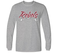 Load image into Gallery viewer, MID - CAROLINA REBELS LOGO LONG SLEEVE T-SHIRT