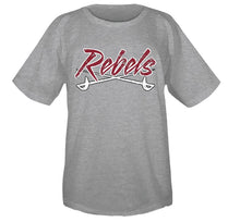 Load image into Gallery viewer, MID -CAROLINA REBELS LOGO SHORT SLEEVE T-SHIRT
