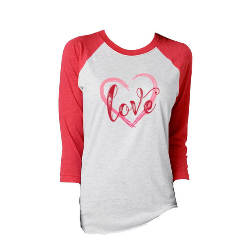 JANE MARIE LOVE 3/4 SLEEVE T-SHIRT