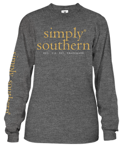 Simply Southern Collection Santa Dog Long Sleeve T-shirt