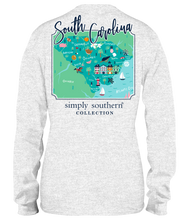 Load image into Gallery viewer, Simply Southern Collection South Carolina Long Sleeve T-shirt