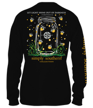 Load image into Gallery viewer, Simply Southern Collection Let Light Shine Out Long Sleeve T-shirt