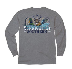STRAIGHT UP SOUTHERN LONG SLEEVE - 3 IN 1