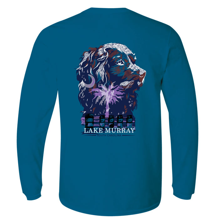 KOSS CUSTOM COMFORT COLORS LONG SLEEVE - SC LAKE BOYKIN