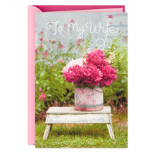 Load image into Gallery viewer, HALLMARK I LOVE OUR LIFE TOGETHER MOTHER'S DAY CARD FOR WIFE