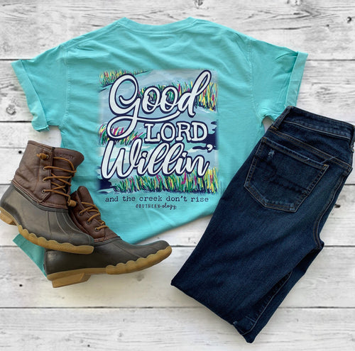 Southernology Good Lord Willin' Short Sleeve T-shirt
