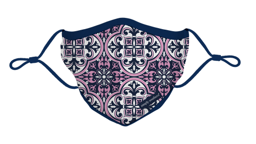 Simply Southern Collection Damask Face Mask