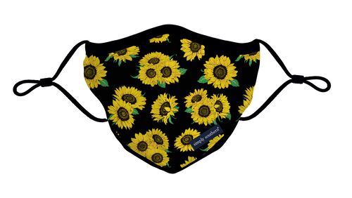 Simply Southern Collection Sunflower Youth Face Mask