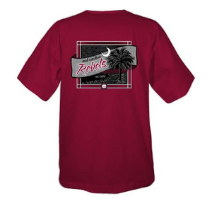 Mid - Carolina Banner Short Sleeve T-shirt