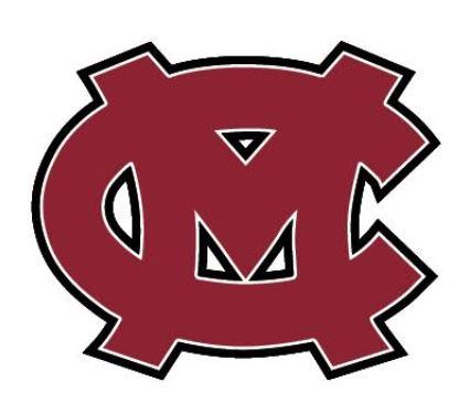 Mid - Carolina High School Block MC Decal