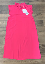 Load image into Gallery viewer, MARY SQUARE MICHELLE A POP OF PINK DRESS