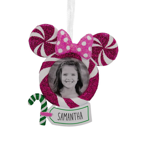 Hallmark Disney Minnie Mouse Personalized Photo Frame Ornament
