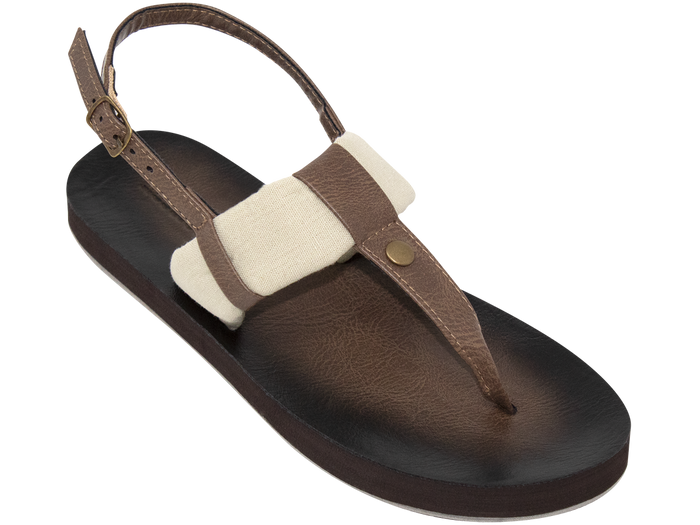 Tidewater Montauk Natural Cabana Sandals