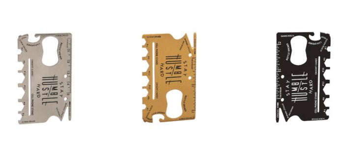 Evergreen Multifunctional Tool Card