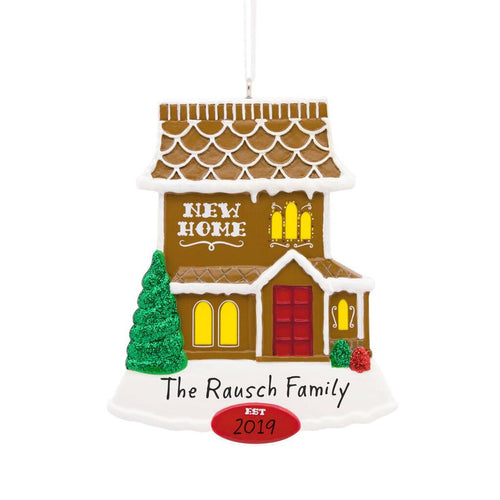 Hallmark New Home Personalized Ornament