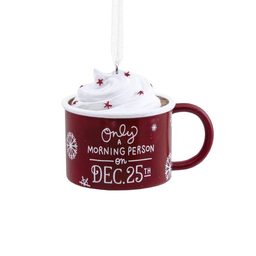 Hallmark Christmas Mug Ornament