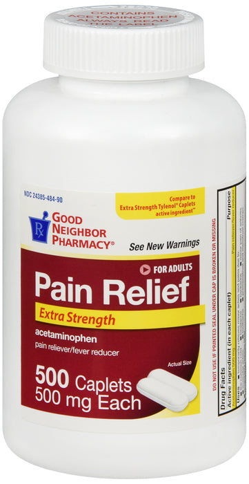 GOOD NEIGHBOR PHARMACY PAIN RELIEF 500 MG 500 CAPLETS