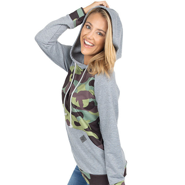 SIMPLY SOUTHERN COLLECTION HOODIE - CAMO