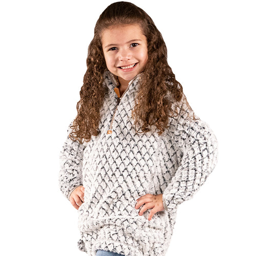 SIMPLY SOUTHERN COLLECTION - YOUTH SIMPLYFUZZY - HEATHER GREY