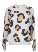 Load image into Gallery viewer, Simply Southern Brown Cheetah Sweater